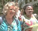 Liziwe McDaid (I) and Makoma Lekalakala