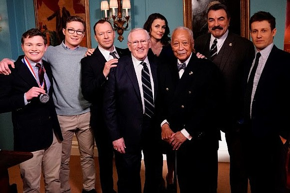"Former Mayor David N. Dinkins made a guest appearance on the CBS hit show ""Blue Bloods"" Friday, April 13."