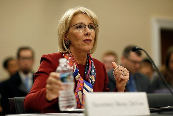 A federal judge ruled that the Betsy Devos-led Department of Education improperly delayed implementing a rule to give some student ...