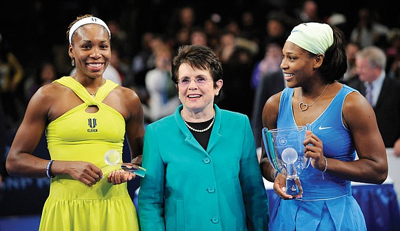 A day before playing in the 2005 final at the All England Club, Venus Williams addressed a meeting of the ...