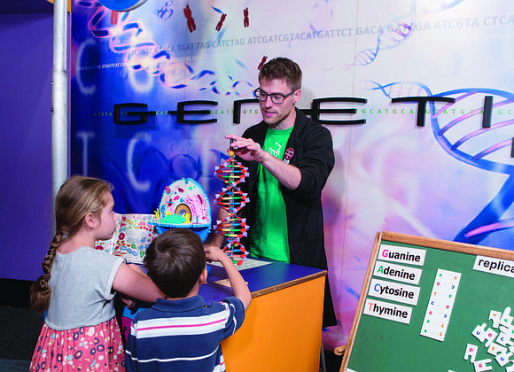 The Museum of Science and Industry (MSI) recently celebrated DNA Days with a week of special activities and experiences that ...