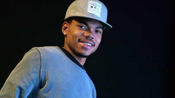 On the red carpet for the premiere of his feature film debut, Chance the Rapper dodged WGN's questions about entering ...