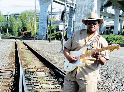 Portland Blues man Norman Sylvester pays tribute to his southern roots when he and his family boarded a Union Pacific ...