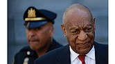 Bill Cosby, 80, leaves the Norristown, Pa., courthouse after being convicted April 26 of drugging and raping Andrea Constand at his home outside Philadelphia in 2004.