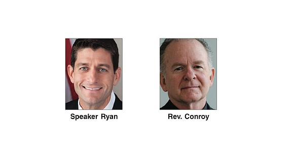 U.S. House Speaker Paul Ryan forced out the Jesuit priest who had served as chaplain of the U.S. House of ...