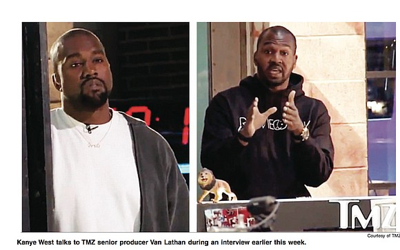 """Rapper Kanye West on Tuesday described slavery as a choice, praised President Trump for doing """"the impossible"""" by becoming president, ..."""