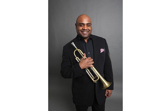 Richmond will rock as the Richmond Jazz Society features Terell Stafford, one of America's gifted and versatile trumpet players.