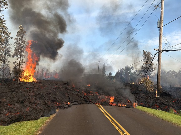 The destructive tear of this volcanic eruption isn't over yet. Lava and hazardous fumes are still spewing on Hawaii's Big ...