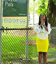 Over the weekend Crystal Lampkins-Banks released a new book, Hi'Yella: Life in the Projects, that details her experiences growing up in the Robert Taylor Homes, a low-income high-rise housing development in Bronzeville that has since been demolished