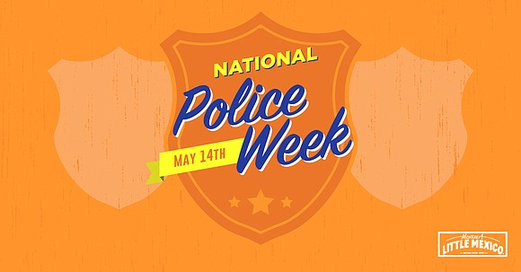 In celebration of National Police Week, participating Monterey's Little Mexico locations will be offering police officers a free entrée on ...