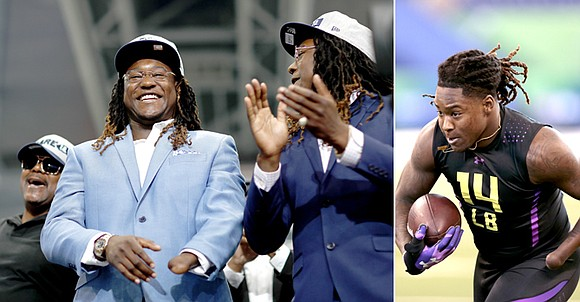 When Shaquem Griffin's name was called, the crowd loved it.
