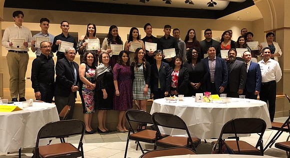 JTHS Students & Alumni awarded the 2018 Dr. Daniel Gutiérrez Scholarships, eight are Joliet Central seniors, four are Joliet Central ...