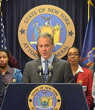 Former New York State Attorney General Eric Schneiderman