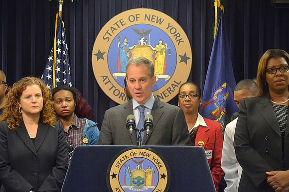 In what must be the most ironic turn in this era of sexual harassment, New York's Attorney General Eric Schneiderman, ...