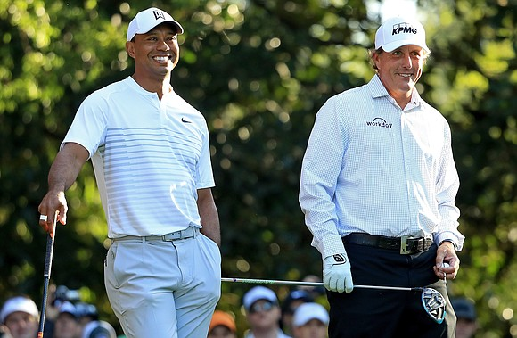 It's the dream pairing golf fans yearn for, but Phil Mickelson has upped the ante and called out Tiger Woods ...
