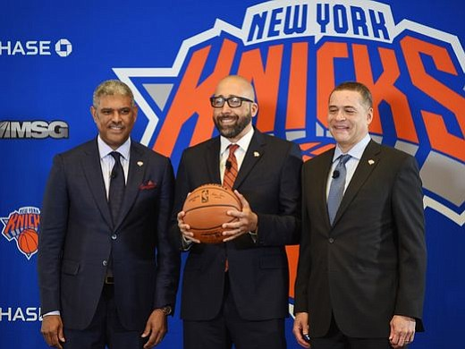 Tuesday at Madison Square Garden, David Sean Fizdale from Los Angeles, who will turn 44 next month, was introduced as ...