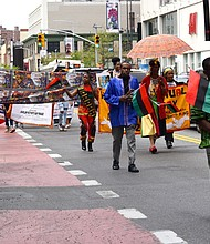 Annual Mother's Day Parade in Harlem