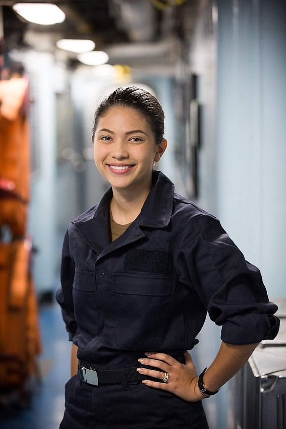 A Houston native and 2018 Jersey Village High School graduate is serving in Guam in the U.S. Navy aboard the ...