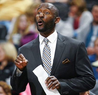 The Atlanta Hawks are giving Lloyd Pierce his first head coaching job in the NBA, choosing a man who has been an assistant with Philadelphia and Memphis to rebuild the franchise. The Hawks announced Friday, May 11, 2018. they had agreed to terms on a deal with Pierce. (AP Photo/David Zalubowski, File)