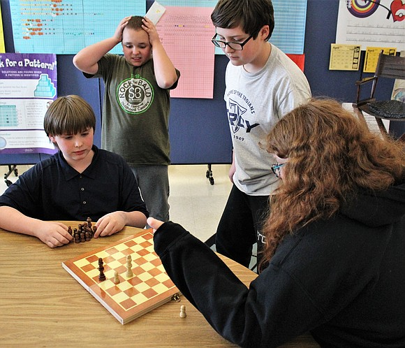 Wrapping up its second year at William B. Orenic Intermediate School is the Chess Club, which sponsor and W.B.O. Math ...