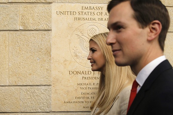 The United States opened its new embassy in Jerusalem Monday with a high-powered American presidential delegation joining Israel's top leadership ...