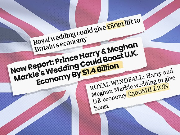 It's a favorite tabloid newspaper headline: The Royal Wedding will bring a HUGE boost to the economy. Parts of the ...