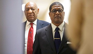 Bill Cosby's sentencing hearing is set for September 24 and 25, according to a court order from Judge Steven O'Neill./ Source:Mark Makela/pool/Getty Images