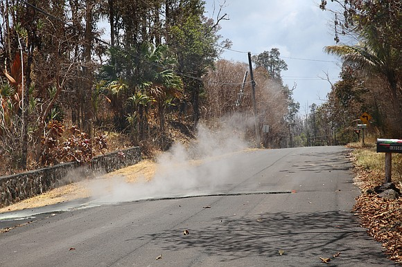 As if the catastrophic, home-devouring lava weren't bad enough, now residents have to worry about choking on sulfur dioxide.