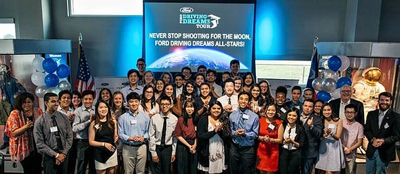 *$100,000 in scholarships awarded to 50 senior high school students in Greater Houston area to pursue higher education *Ford Fund's ...
