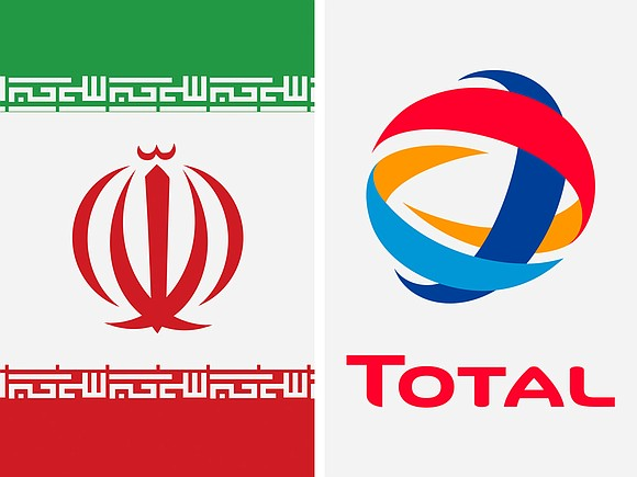French oil giant Total is preparing to pull out of Iran to avoid risking US sanctions.
