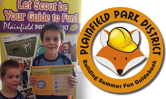 Pick up a copy of Scout's Building Summer Fun Guidebook at all Plainfield Park District guest services locations beginning May ...