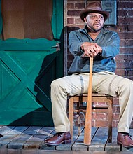 Lester Purry stars in 'Fences,' the August Wilson play about a husband, father, former athlete and garbage collector trying to define himself in 1950s Pittsburgh.  The play with its African-American narrative tackles issues of mental health and the impacts of racism. Now playing through June 10 at Portland Playhouse, 602 N.E. Prescott St.