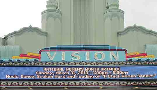 The historic Vision Theatre and the Manchester Youth Arts Center in Leimert Park has closed for..