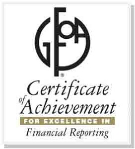 The city of Palmdale's Finance Department has been awarded the Certificate of ..