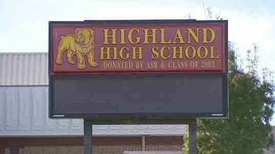 Students returning to class this week at Highland High School in Palmdale—the site of..