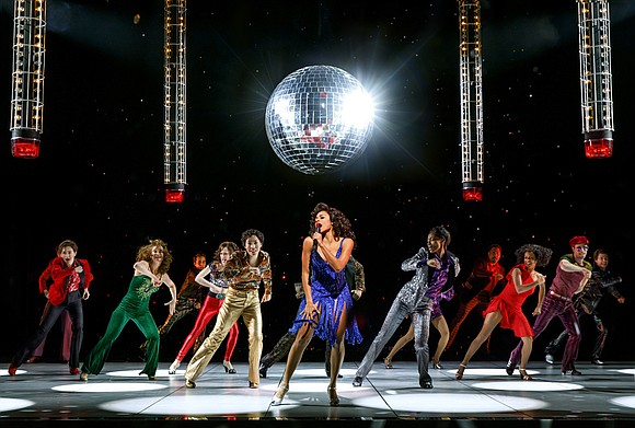"Once again, disco is alive and well and it is at the Lunt-Fontanne Theatre on West 46th Street, where ""Summer: ..."