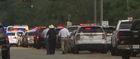 Someone opened fire at a high school in the southeastern Texas city of Santa Fe on Friday morning, officials said, ...