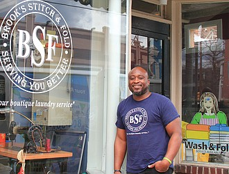 Devon Chester says his leap of faith into a new laundry business was scary, but has had numerous rewards, including giving back to the community.