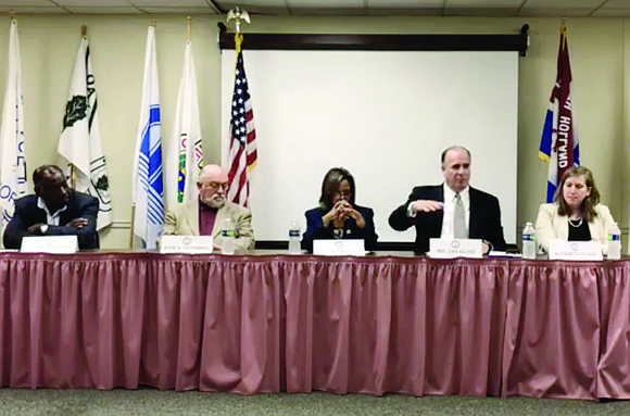 Congresswoman Robin Kelly from Illinois second district recently hosted a panel discussion with Congressman Dan Kildee (MI-05) to discuss the ...