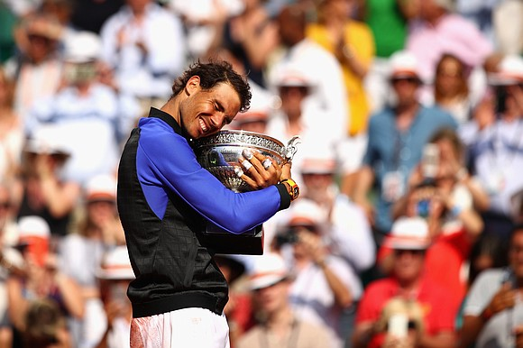 "Perhaps the question heading into next week's French Open should be: ""Who can take a set off Rafael Nadal?"" instead ..."