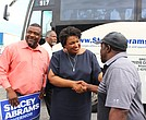 Democratic Georgia Gubernatorial candidate Stacey Abrams