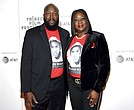 "In this Friday, April 20, 2018, file photo, Trayvon Martin's parents, Tracy Martin, left, and Sybrina Fulton, attend the Tribeca TV screening of ""Rest in Power: The Trayvon Martin Story"" at BMCC Tribeca PAC, during the 2018 Tribeca Film Festival in New York. (Photo by Evan Agostini/Invision/AP, File)"