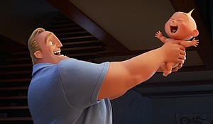 Craig T. Nelson voices Mr. Incredible in Incredibles 2/ Photo Credits: Disney Pixar