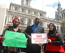 Rally for Chibok girls at City Hall