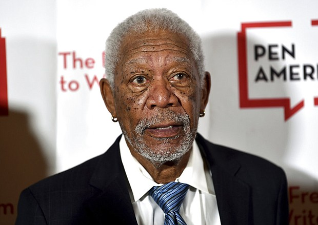 Actor Morgan Freeman attends the 2018 PEN Literary Gala in New York. (Photo by Evan Agostini/Invision/AP, File)