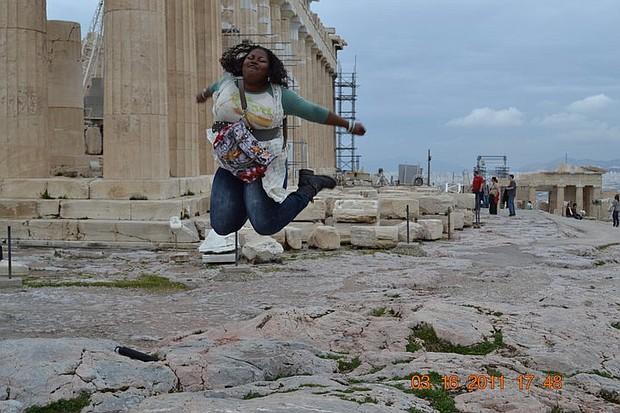 TotallyRandie in Greece