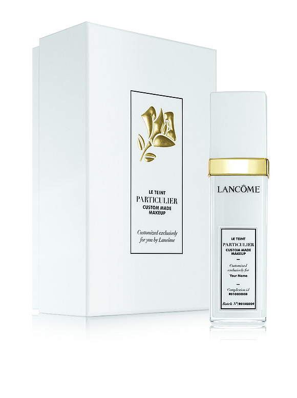 Lancôme Le Teint Particulier combines luxury, artistry, and technology to create a one-of-a-kind foundation match, delivering a highly personalized, instantly ...
