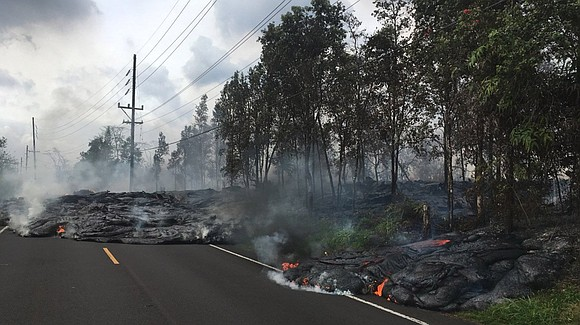Danger from Hawaii's Kilauea volcano has now reached Guam, the US territory 4,000 miles away.