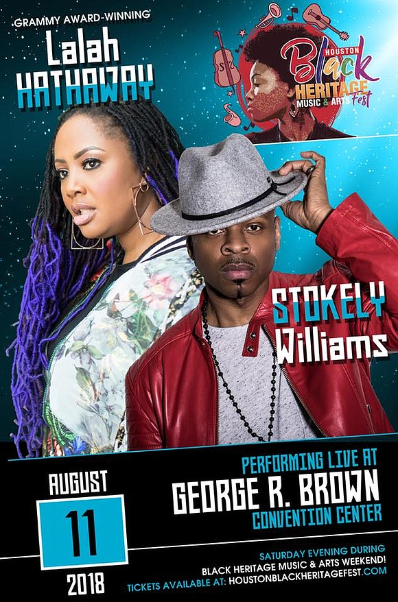 This year's fourth annual Houston Black Heritage Music & Arts Festival will be one for the books! Sponsored by The ...