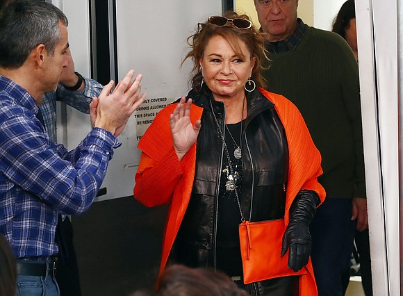 "Roseanne Barr says her TV career is not over. Weeks after ABC canceled ""Roseanne"" for her racist Twitter rant and ..."